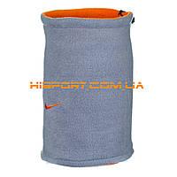Бафф Nike двусторонний серо-оранжевый / горловик