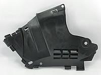 Защита переднего бампера фаза2 левая с 2008 г Логан grog Корея