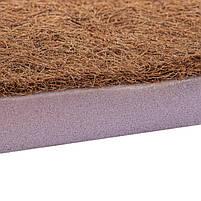 Матрас-тонкий, Топер - Футон Cocos (Eurosleep), съемный чехол, высота 6 см, 4 фиксатора по углам,, фото 6
