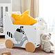 Ящик для іграшок Kinderkraft Racoon, фото 4