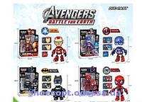 Робот металлический Супергерой Железный человек, Человек паук, Бэтмен, Капитан Америка, фото 1