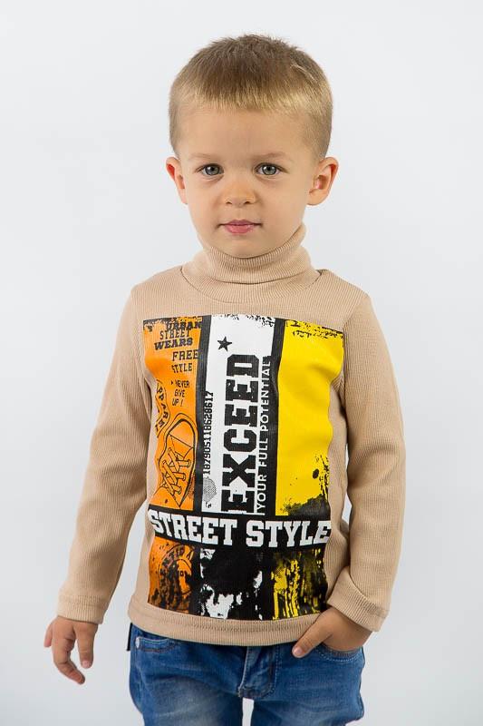 Детская водолазка для мальчика с накатом