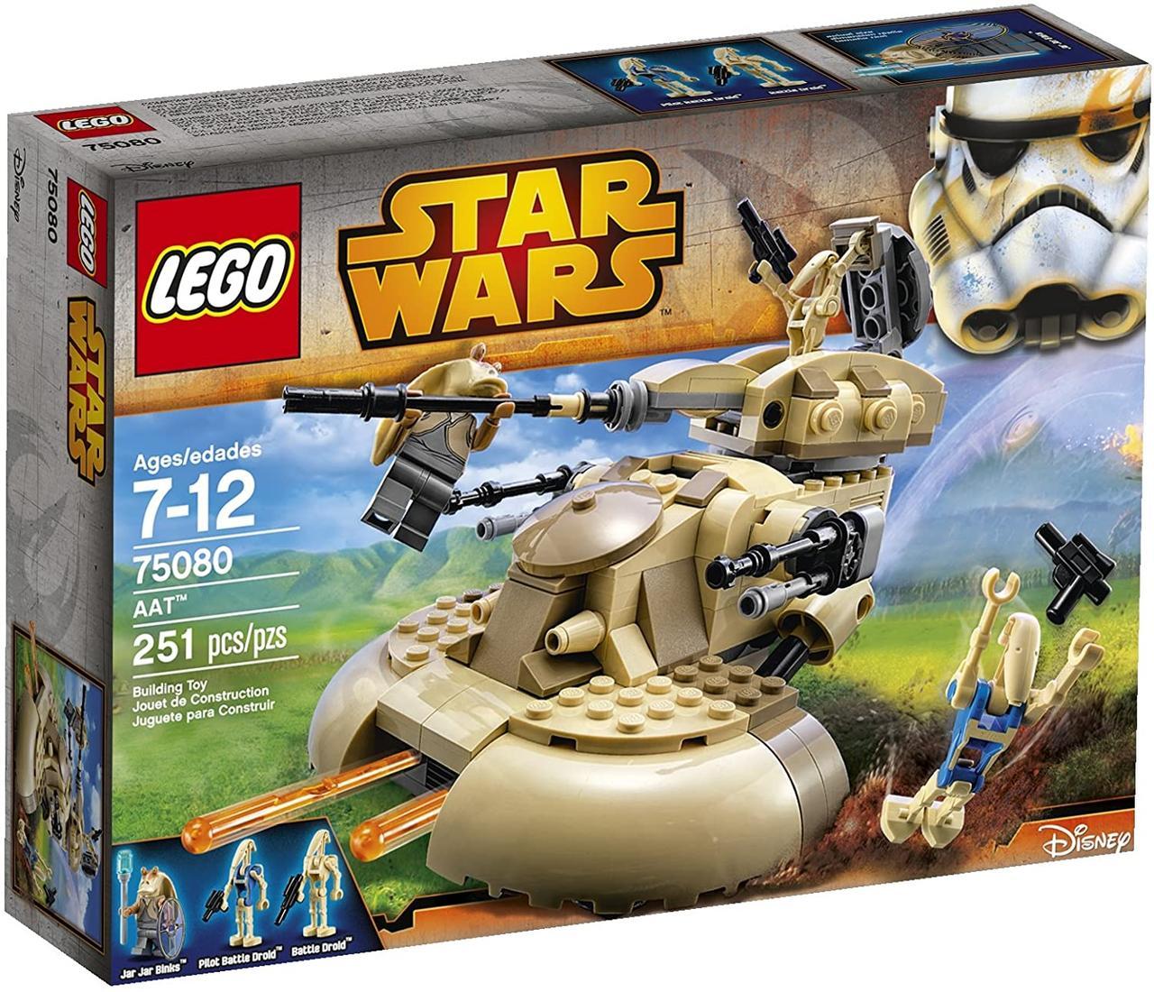 Конструктор LEGO Star Wars AAT Бронированный штурмовой танк 75080