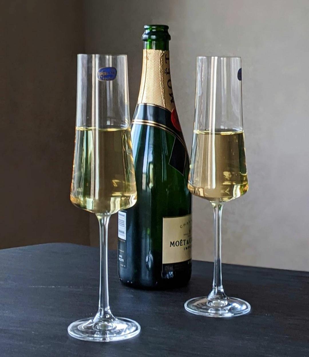 Набор бокалов для шампанского Bohemia Extra  210 мл