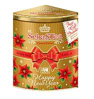 Чай чёрный SebaSTea Happy New Year Super Pekoe 150 гр. ж/б, фото 1