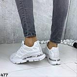 Кроссовки женские белые 477, фото 2