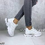 Кроссовки женские белые 477, фото 4