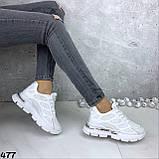 Кроссовки женские белые 477, фото 5