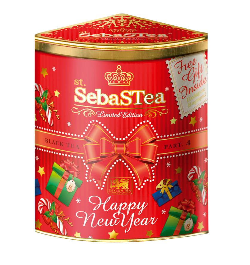 Чай чёрный SebaSTea Happy New Year FBOP 150 гр. ж/б