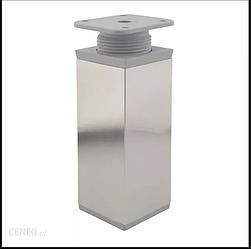 Нога регульована квадратна 40X40 H=100мм нікель