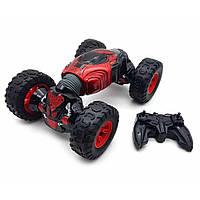 Трюковая машинка-перевёртыш на пульте управления Champions 2588 Красная