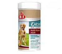 Вітаміни 8in1 Vitality Excel Adult Multi Vitamin 70 т - Мультивітамінний комплекс для дорослих собак