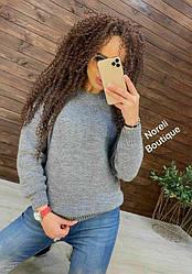 Женский свитер oversizе Silver strings