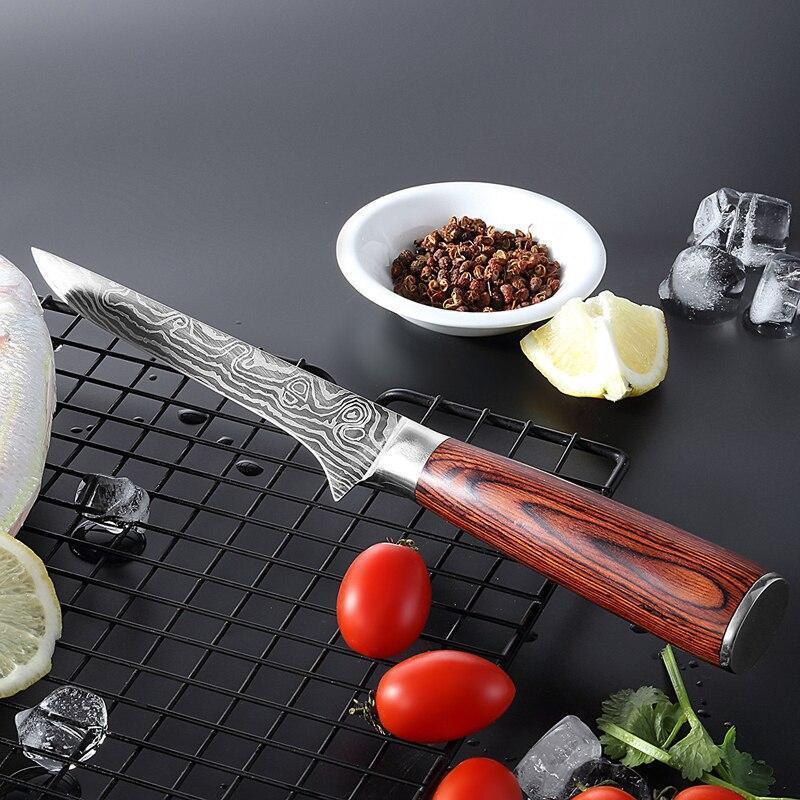 Японский нож шеф-повара для обвалки 27см