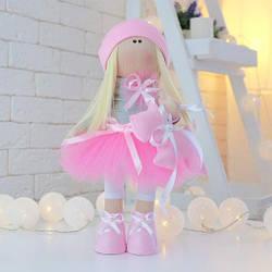 Мягкие игрушки - Текстильная кукла - Сара