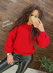 Женский свитер oversizе African heat