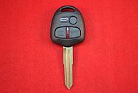 Ключ Mitsubishi outlander, lancer, grandis, с чипом id46 3 кнопки 433MHZ