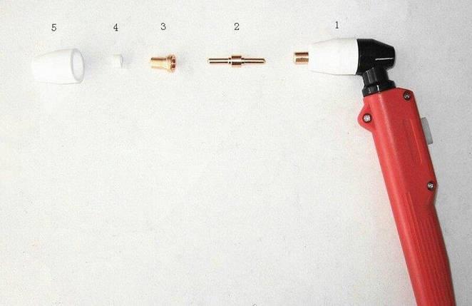 Рукоятка в сборе для плазменного резака РТ-31 к плазморезам типа CUT-40, фото 2