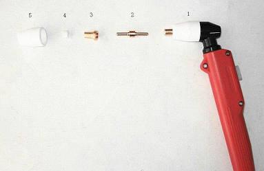 Рукоятка в сборе для плазменного резака РТ-31 к плазморезам типа CUT-40