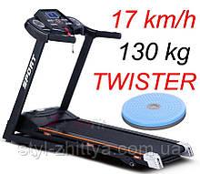 Бігові доріжки електричні, 130 кг. + Твістер