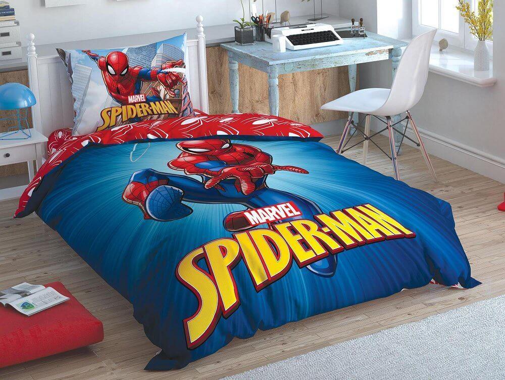 Постельное белье подростковое Spiderman Time To Move ранфорс Tac