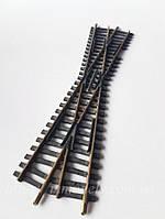 Рельсовый материал Fleischmann Глухое пересечение 15° колея 16,5 мм, масштаба 1:87
