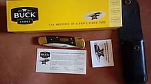 Складной нож коллекционный BUCK 110 50th Anniversary. Юбилейный лимитированный выпуск