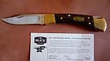 Складной нож коллекционный BUCK 110 50th Anniversary. Юбилейный лимитированный выпуск, фото 3