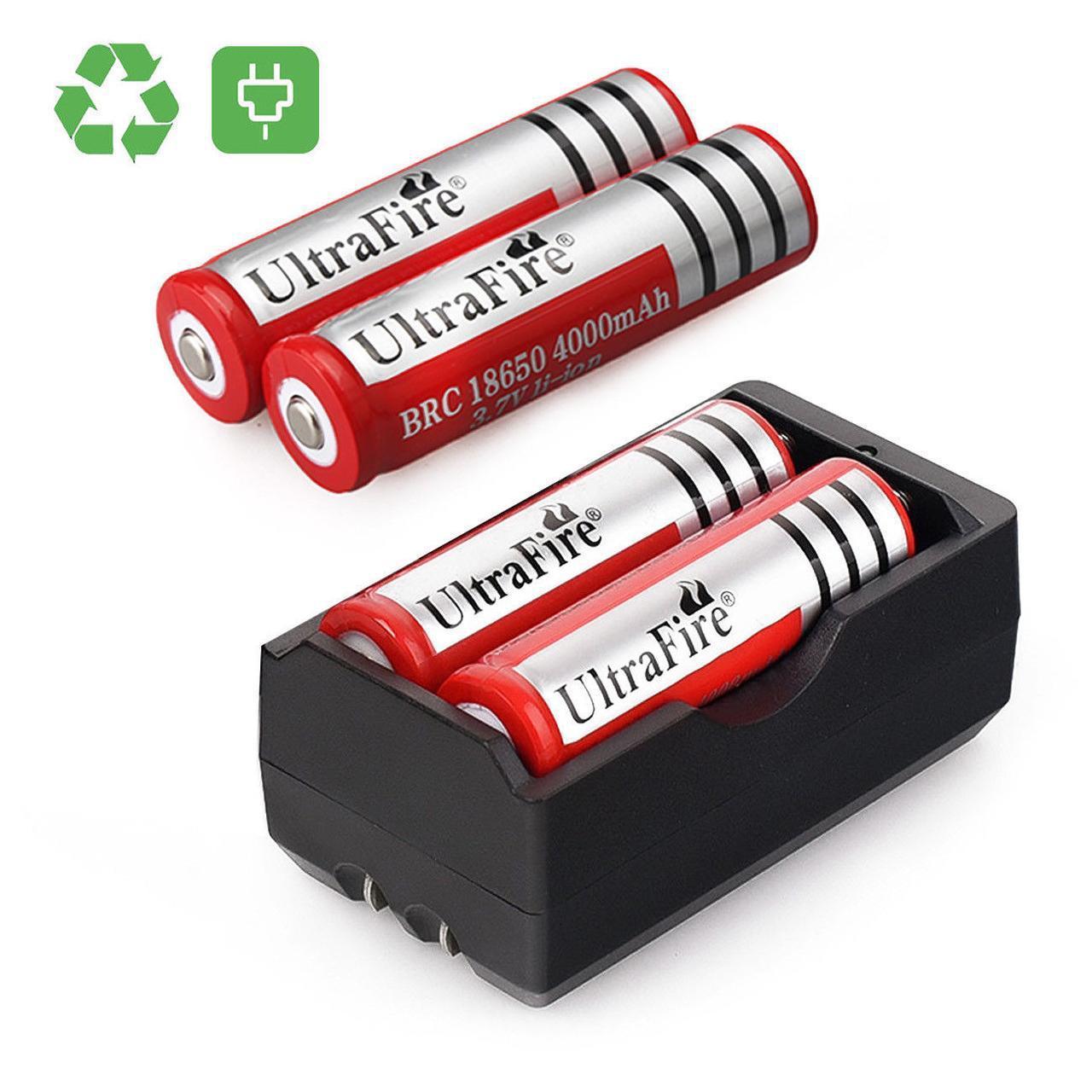 Аккумулятор 18650 UltraFire 3000 mAh