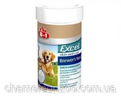 Вітаміни 8in1 Vitality Excel Brewers Yeast 140 т - Вітамінна добавка для собак і котів