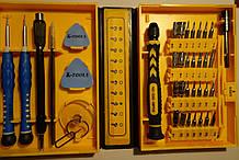 Набор Инструментов Для мобильных Телефонов и Ноутбуков K-TOOLS 1252-38PCS-IN-1 CR-V(Оригинал)