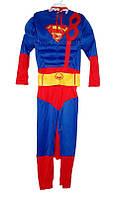 Костюм Супермена (рельефный 95-120 см) / Superman