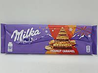 Шоколад Milka с арахисом и карамелью 276 г