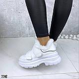 Кроссовки женские белые 116, фото 2