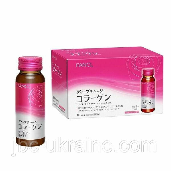 FANCL Deep Charge Collagen Японский питьевой коллаген (50 мл)