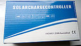 30А 12/24В 30А ШИМ (PWM) Контролер заряду сонячних батарей (модулів) с Дисплеєм + 2USB, фото 6