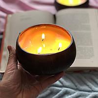 """Ароматические декоративные эко свечи для дома из натуральных восков Coconut Home """" Ягоды """""""