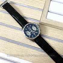 Часы мужские наручные Tag Heue Grand Carrera Calibre 17 quartz Chronograph Silver / реплика ААА класса /, фото 3