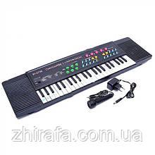 Музичний синтезатор-піаніно орган MQ023 + FM, мікрофон, від мережі