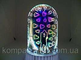 Настольный светодиодный 3D светильник ночник