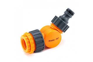 Фітинг Presto-PS поворотний адаптер для коннектора з внутрішньою різьбою 1/2-3/4-1 дюйм (5821)