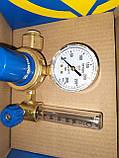 Редуктор кислородный БКО-50-4-2М ДМ с ротаметром и увлажнителем, фото 7
