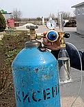 Редуктор кислородный БКО-50-4-2М ДМ с ротаметром и увлажнителем, фото 9