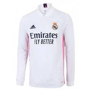 Футбольна форма Реал Мадрид (Real Madrid) 20/21 домашня довгий рукав