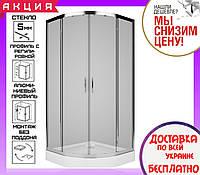 Душевая кабина 90х90 см Kolo Rekord PKPG90222003 профиль хром стекло прозрачное