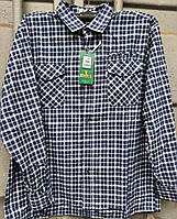 Рубашка байковая мужская норма 56 в розницу