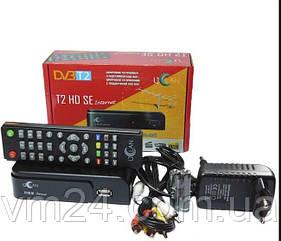 Цифровой TV-тюнер uClan T2 HD SE Internet DVB-T2\C  IPTV+MEGOGO +WiFI+адаптер 5db, кабель 1м HDMI Тюнер Т2