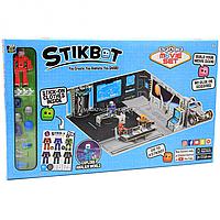 Игровой набор для анимационного творчества Stikbot Космическая станция (jm-06c)