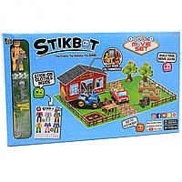 Игровой набор для анимационного творчества Stikbot стикботы Ферма (jm-06d)