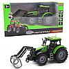 Машинка игровая автопром «Трактор» Зеленый-4, 20 см (7924AB)